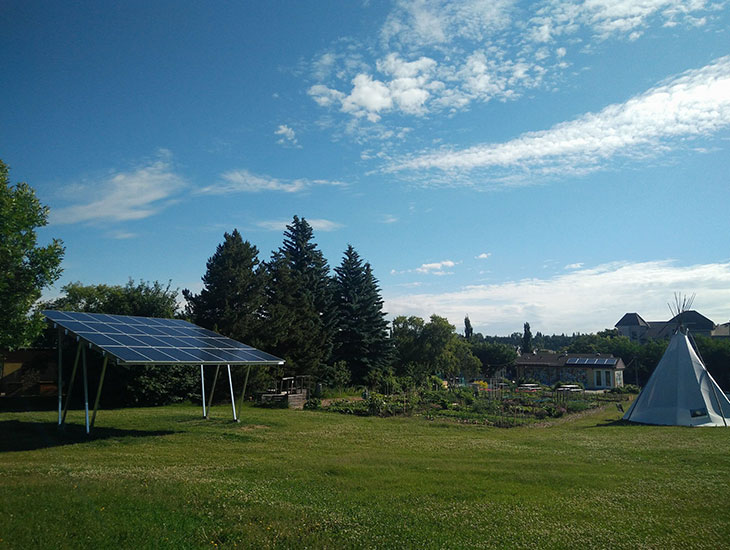 Solar Gazebo | Riverdale Community