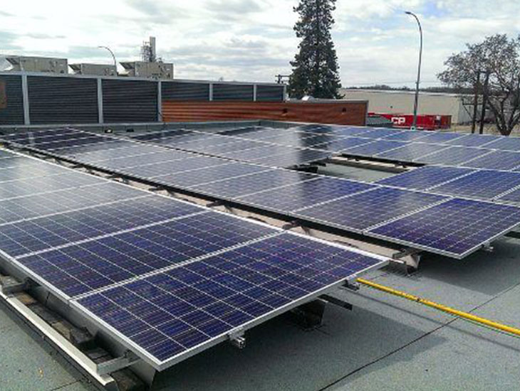 Solar System For The Innisfail Town Office