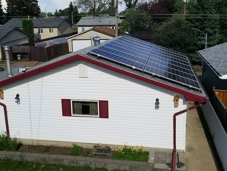 RESIDENTIAL SOLAR PROJECT | JIM MCDONALD | EDMONTON, AB