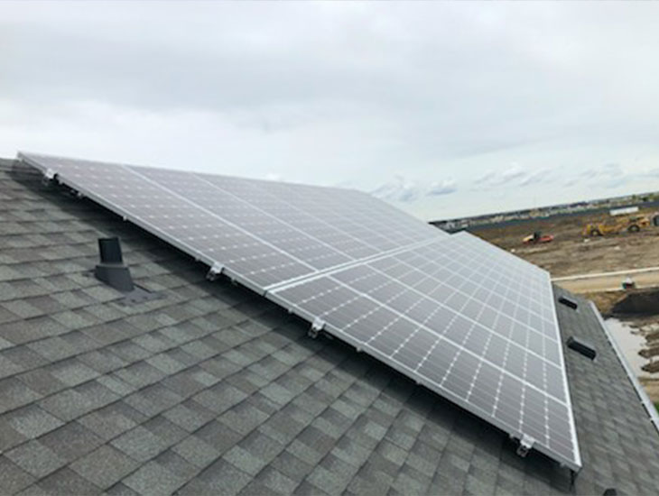 RESIDENTIAL SOLAR PROJECT | ANH NGUYEN | EDMONTON, AB