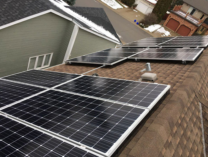 Residential solar project for Kay | Edmonton | Alberta