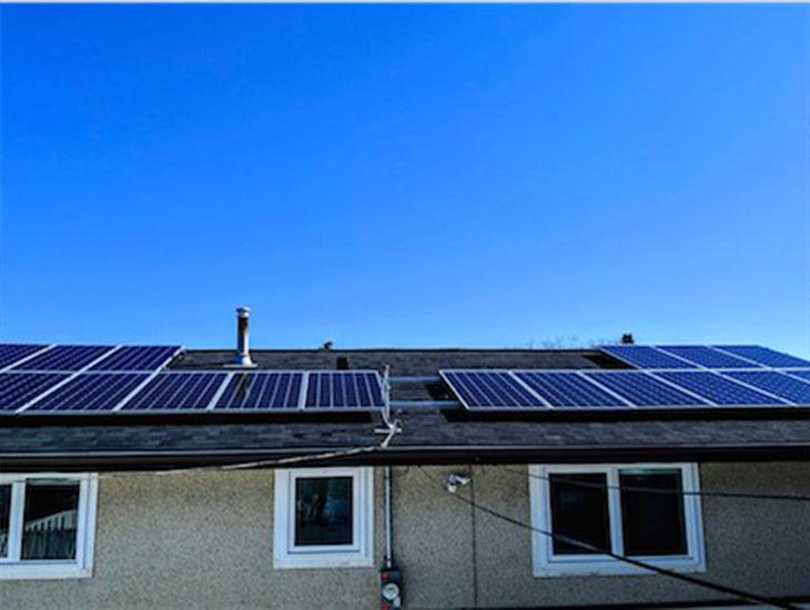 Residential solar system for Greg | Edmonton | Alberta