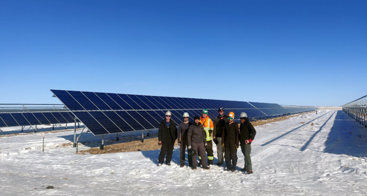 The Town Of Viking Takes Advantage of the Alberta Municipal Solar Program