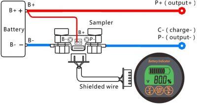 TR16 80V 350A Battery monitor