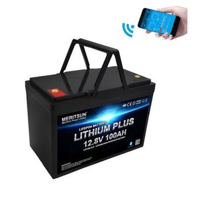 Meritsun Lithium 100Ah Battery for Caravan / Motorhome