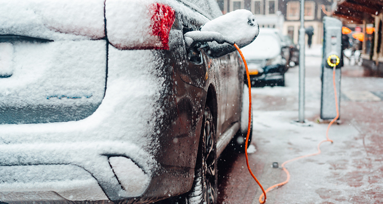 Effects On The Range Of Electric Vehicles In Cold Weather